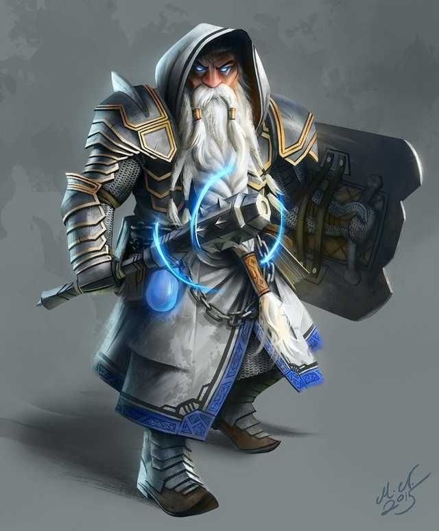 DnD male paladins & clerics - inspirational in 2020 | Dungeons, dragons characters, Fantasy ...