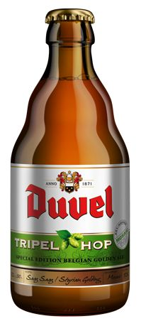 Duval beer bier Belgian ale golden abbey IPA hops Celiac test results bottle low gluten