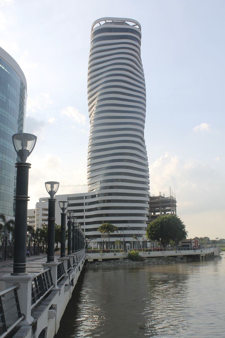 Modern architecture in Guayaquil, Ecuador