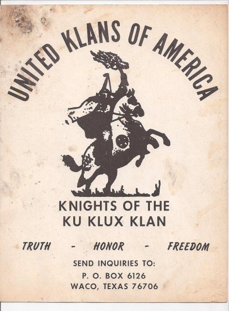 a discussion of the history of ku klux klan in united states of america America's oldest terrorist organization and one of the most famous hate groups in the world, the ku klux klan was founded by six confederate veterans in.