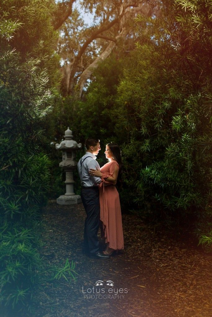 Bok Tower Gardens Engagement SessionOrlando Wedding Photographers | Lotus Eyes Photography