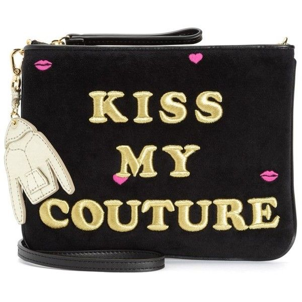KISS MY COUTURE CROSSBODY ($150) ❤ liked on Polyvore featuring bags, handbags, shoulder bags, juicy couture, juicy couture purses, cross-body handbag, crossbody shoulder bag and couture handbags