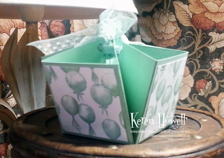Easy Fold Gift Box Craft box, Box, Happy birthday cards