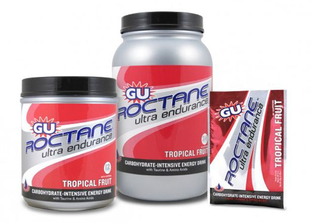On Race Day: GU Roctane Ultra Endurance http://www.bicycling.com/food/best-hydration-and-sports-mixes/slide/5