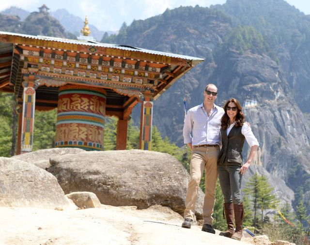 Young Royals Take in a Himalayan Trek