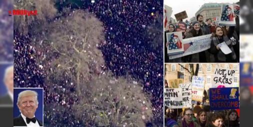 Son dakika... Dünya ayağa kalktı!: Yeryüzünde 2 milyondan fazla kadın ABD'nin yeni başkanı #Trump'a karşı yürüyor. Avustralya #Melbourne'den başlayan gösterilerABD'nin başkenti Washington'a uzandı, yürüyüşlere erkekler de katılıyor. Filipinler, Hindistan, Sırbistan, Almanya, İtalya, Çekya ve İngiltere'de kalabalıklar meydanları doldur...