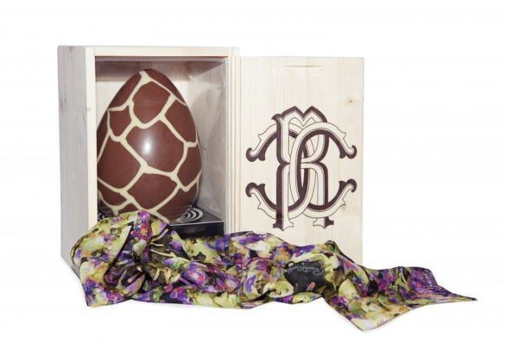 #easter #egg #cavalli #roberto #flower #chocolate #box