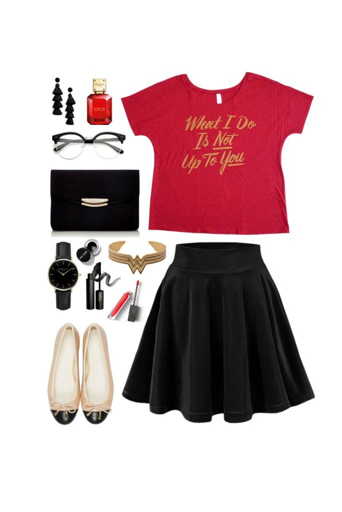 Geek Chic Outfit Inspiration: Casual Wonder Woman