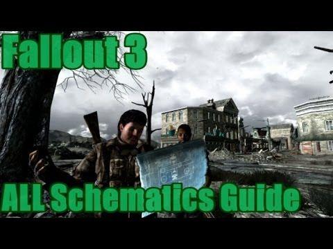 Fallout 3: All Schematics Guide (Vanilla) - YouTube