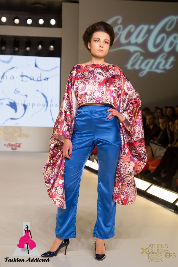 Lena Lada fashion designer -AXDW Athens fashion week -SS2015