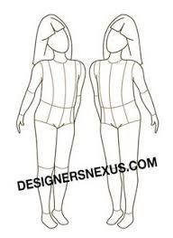 25 unique body template ideas on pinterest fashion illustration image result for body outline template pronofoot35fo Choice Image