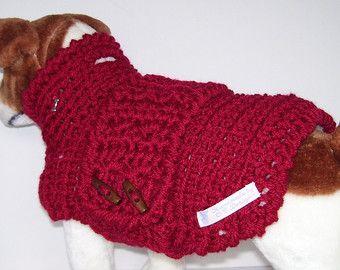 Medio perro ropa perro suéter suéteres de perro perro ganchillo suéter perro Jumper ropa para mascotas perro ropa ropa de perro