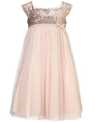 Marianna Dress Gold/Blush $84  Jr bridesmaid or register attendant