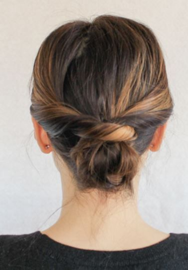 Best 25 Long bob updo  ideas on Pinterest Diy short hair