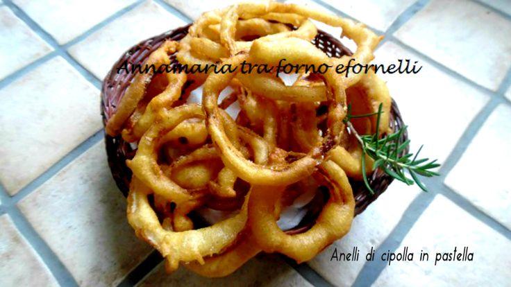 Anelli+di+cipolla+in+pastella