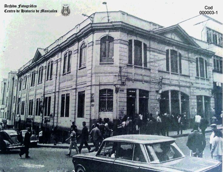 Antiguo Café Polo, ubicado en la carrera 22 con calle 21 esquina, 1973.