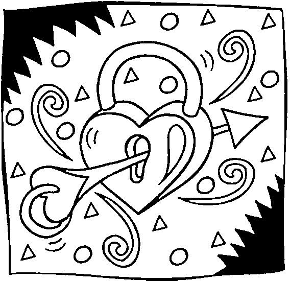 10 best images about coloring pages on pinterest cute things to - Coloring Pages Hearts Stars