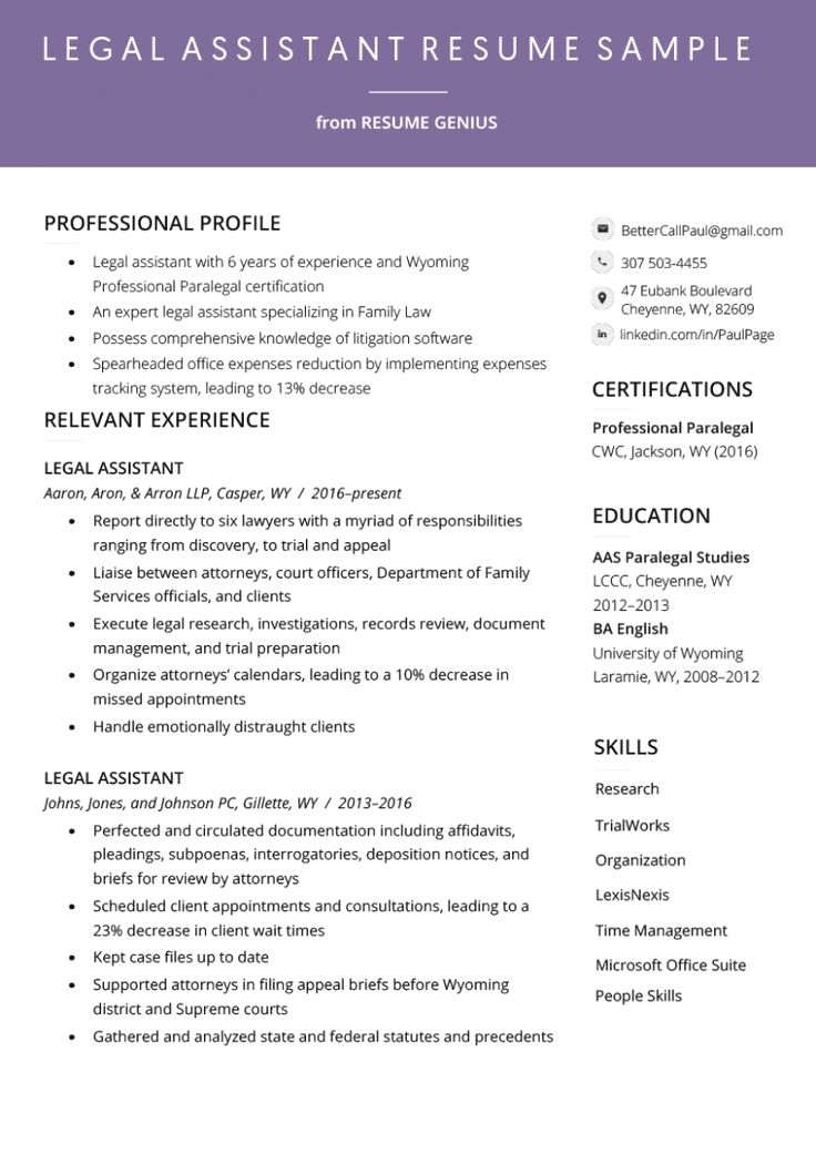 Show The Recruiters That You Keep Up With The Latest Trends By Choosing Our Modern Resume Templa Resume Examples Student Resume Administrative Assistant Resume