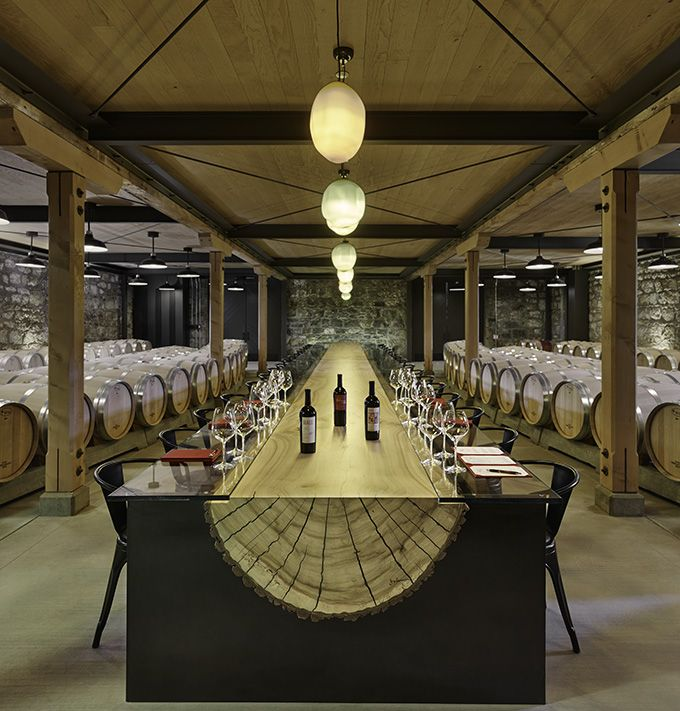HALL Winery's new Winery & Tasting Room in Napa Valley designed by Signum Architecture - The Cool Hunter