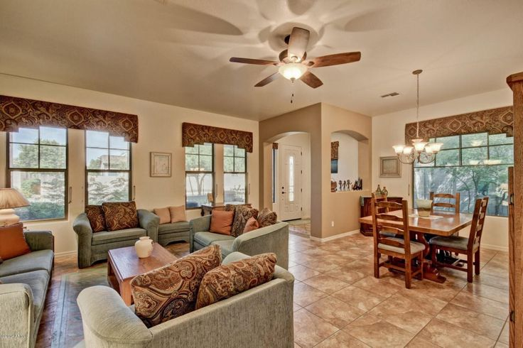 Living Room With Double Hung Window Jackson Green Sage Microfiber Sofa Standard Height