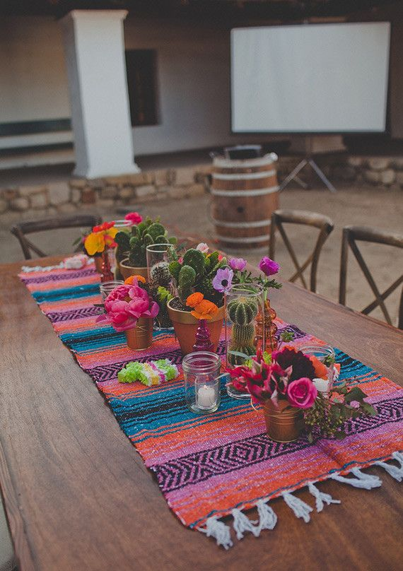 Peep This Totally Pin-Worthy Wedding Fiesta!