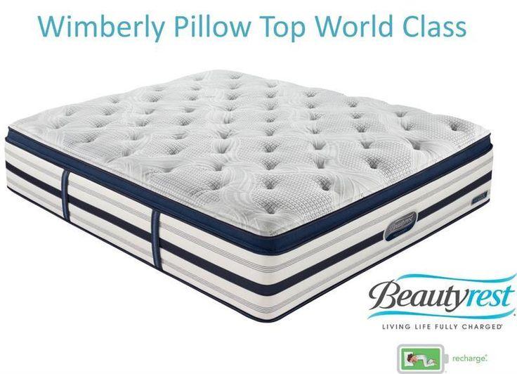 Simmons Beautyrest Recharge Wymberly Luxury Firm Pillow Top Mattress Set Las Vegas Furniture Online