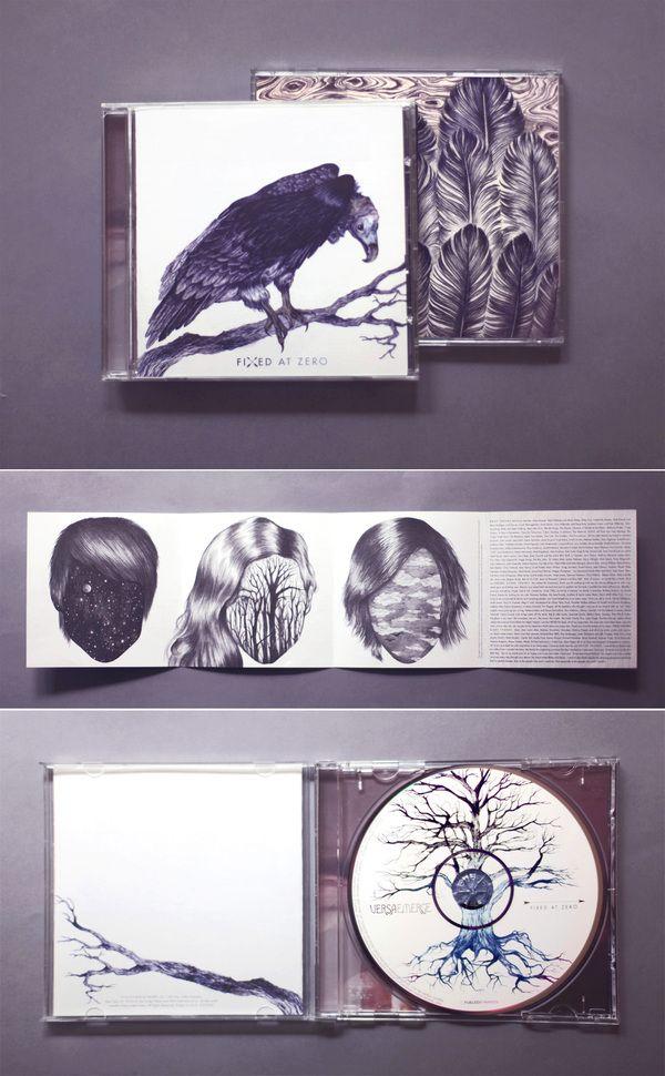 Music Album Covers by Eibatova Karina, via Behance