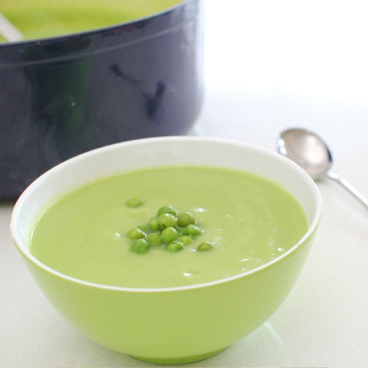 Cauliflower & Pea Soup. Click Visit for the recipe on our blog.