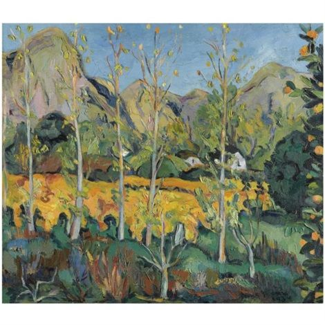 Cape homesteads by Irma Stern