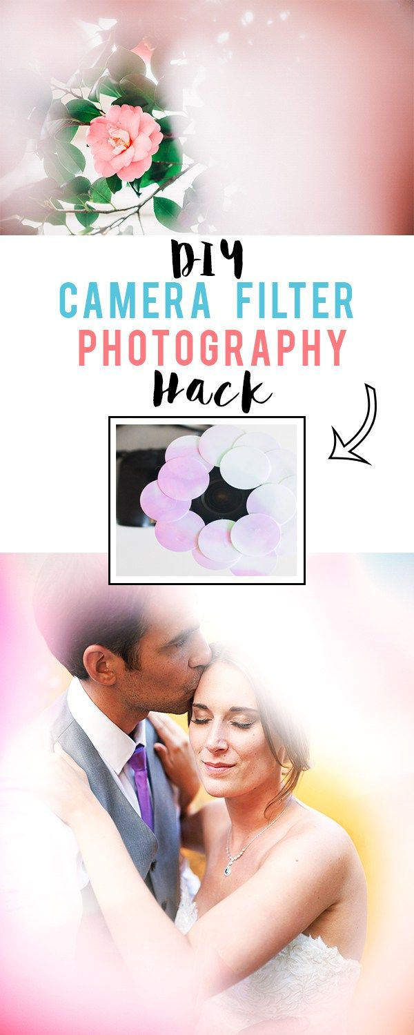 Photography Hack! Diy Camera Filter for Dreamy, Colorful Effects!