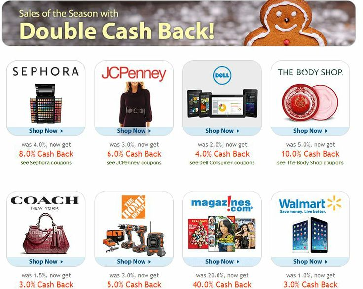90 best deals coupon codes shopping cash back rebates images on extra savings for christmas shopping includes sephora jcpenney coach the body shop walmart and fandeluxe Image collections