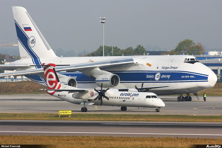 An-124 Rusłan / #AirportGdansk #Antonov #Ruslan #An124 #Gdansk #Planespotting / photo: Michał Franczyk