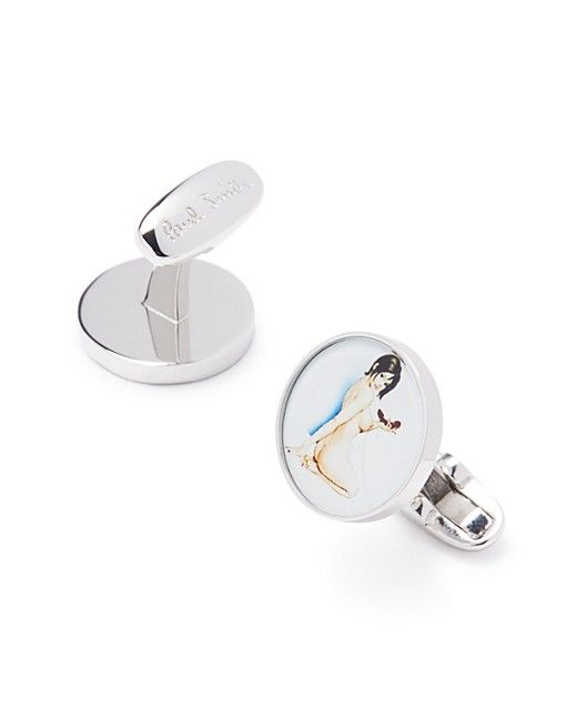$Paul Smith Pinup Cufflinks - Bloomingdale's