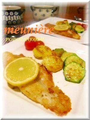 「白身魚の基本のムニエル★meunière」レモンをかけてであっさり♪シンプルだけど、素材の味が一番わかるので好きです❤(・∀・)【楽天レシピ】