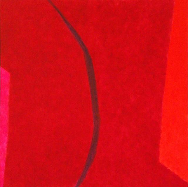 Françoise Sullivan, series: Aedh, No.1, 2012, oil on canvas, 36x36in © Courtesy Corkin Gallery