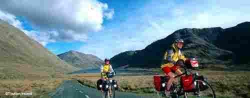 Parc national du Connemara à vélo