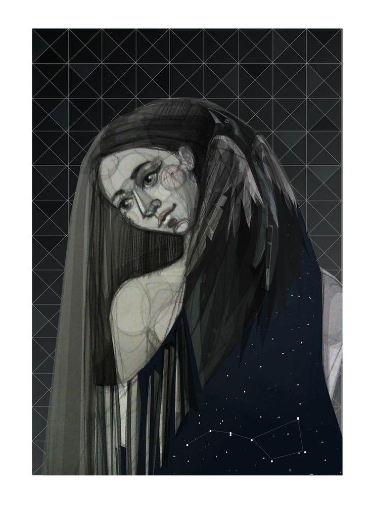 illustration, night