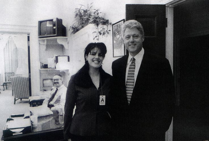 "Monica Lewinsky and Bill Clinton once had, in his words, ""an inappropriate relationship"" while she was an intern at The White House in the 1990s"