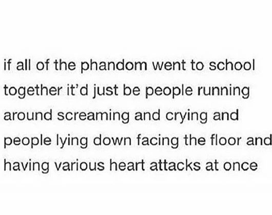 why is this so accurate I mean it's already chaos at school with me and my two friends who watch dnp