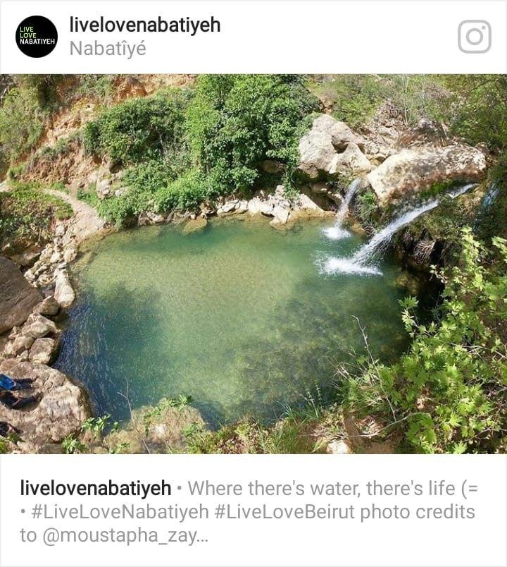 نبع الخرخار عربصاليم جنوب لبنان Photo Water Live Love