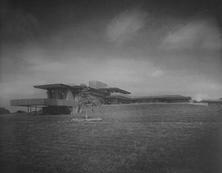 Residencia harold price jr hillside wright 1954 for Frank lloyd wright bartlesville