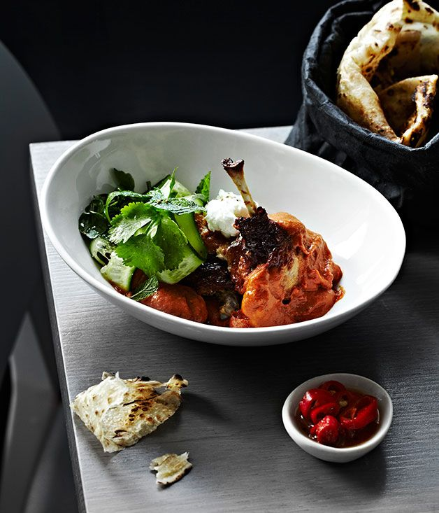 Australian Gourmet Traveller recipe for Rajasthani duck by Tonka recipe in Melbourne.