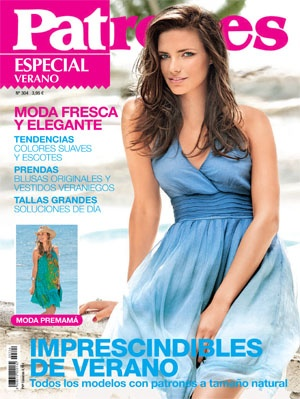 I believe this magazine has tons of patterns. What's even better about it is that it's in Spanish. I need to practice my Spanish. My only fear is the language barrier if I order it.