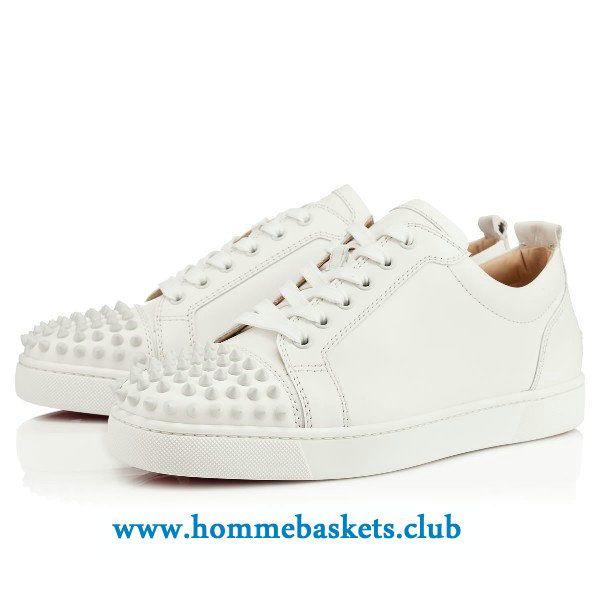 chaussure louboutin blanc