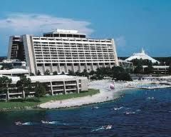 Disney's Contemporary Resort. Love the views of the Magic Kingdom from here!