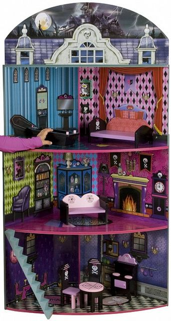 monster high doll house | Recent Photos The Commons Getty Collection Galleries World Map App ...
