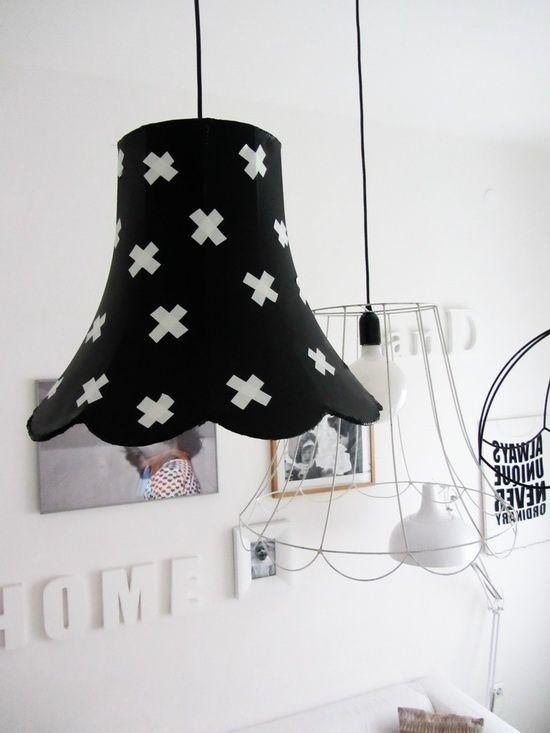 Mix match dhz retro design Brocante black white grappig Interieur