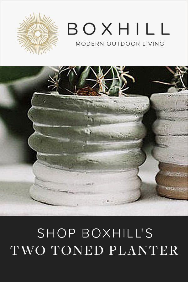 the muted colors of our two toned planter have a subdued understated quality that allow your succulents to be the outdoor style planters modern outdoor living pinterest