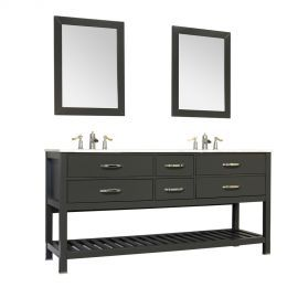 Photo Gallery On Website Alya Bath Manhattan Collection Double Contemporary Bathroom Vanity Without Top