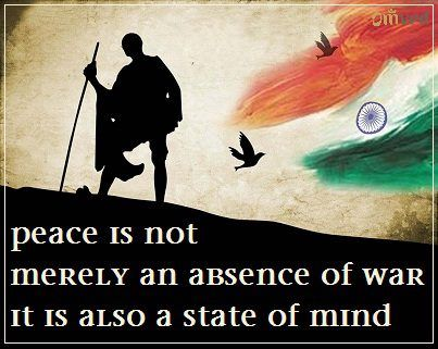 """Peace is not merely an absence of war. It is also a state of mind."" - Jawaharlal Nehru #independence quote Let's revel in the true spirit of freedom. Let's celebrate inner peace. With courage in our heart, vanity in our mind & liberty in our soul. Happy Independence Day.  Be Balanced. Be Natural. Be You. - Omved"